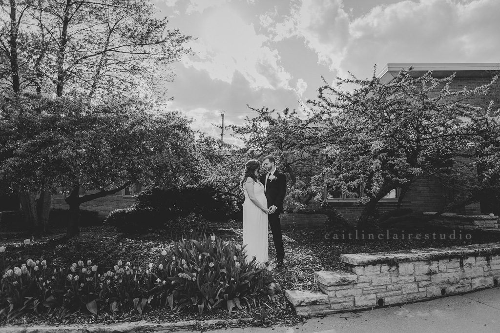 Wisconsin spring wedding