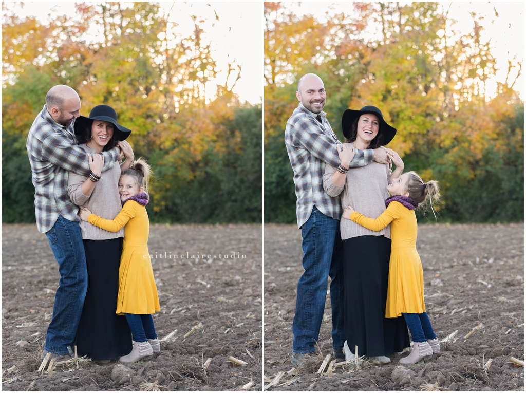 Wisconsin Fall Family Photography