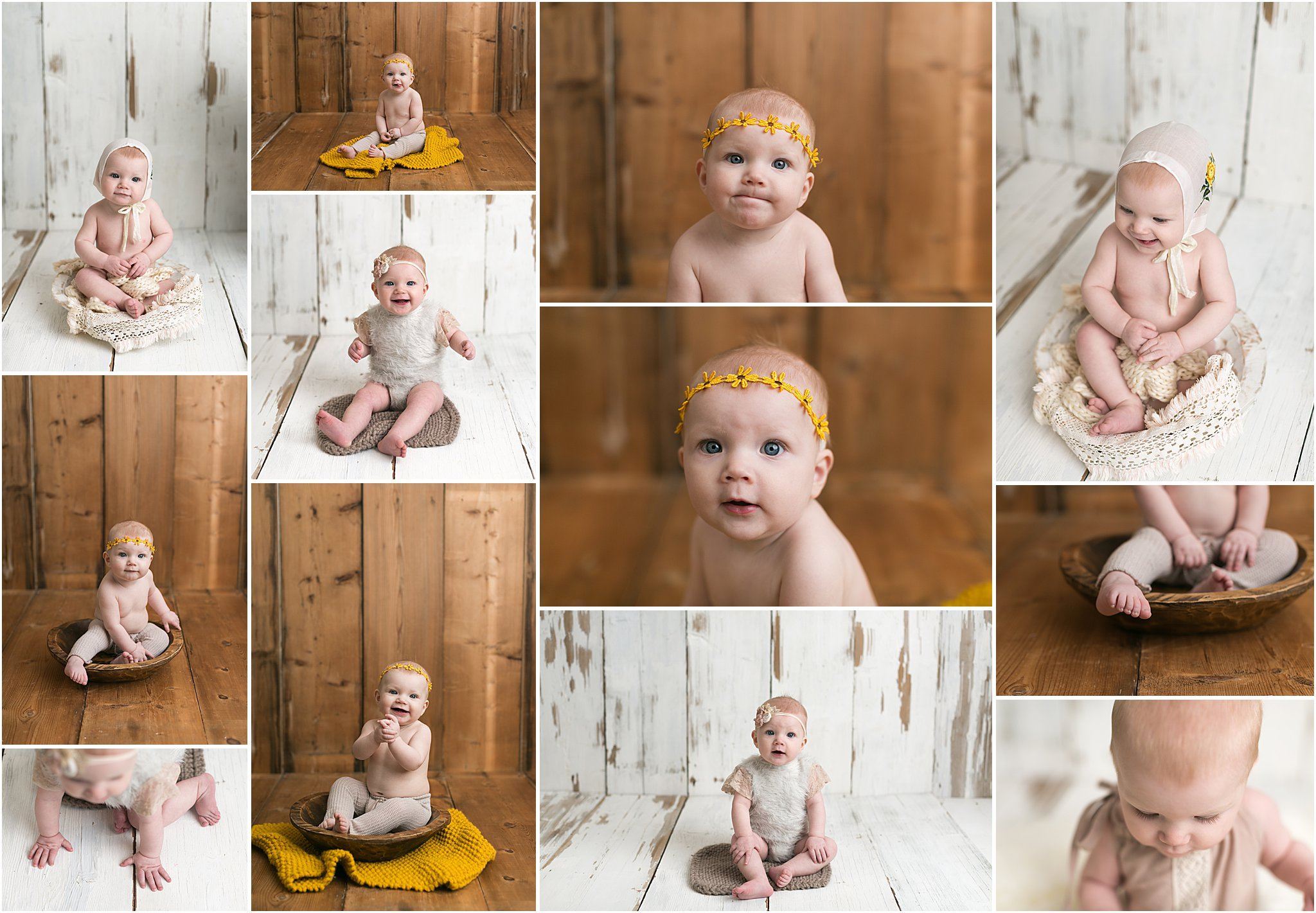 5 Month Photography Session