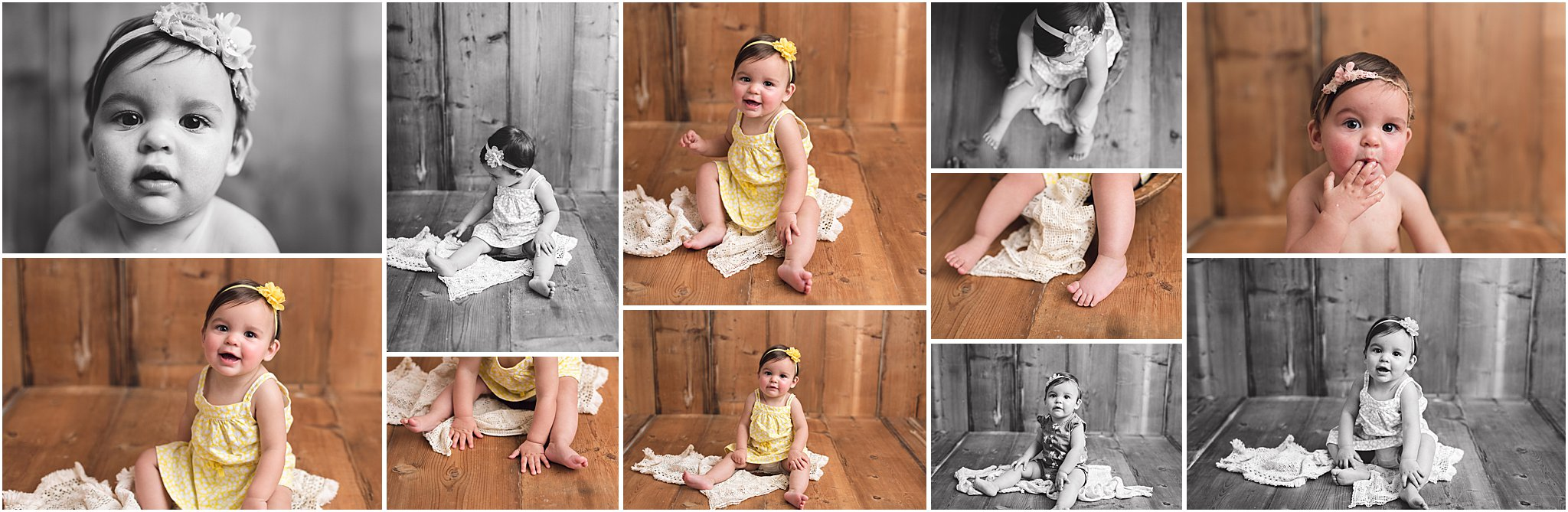 Caitlin Claire Studio 9 Month Photography
