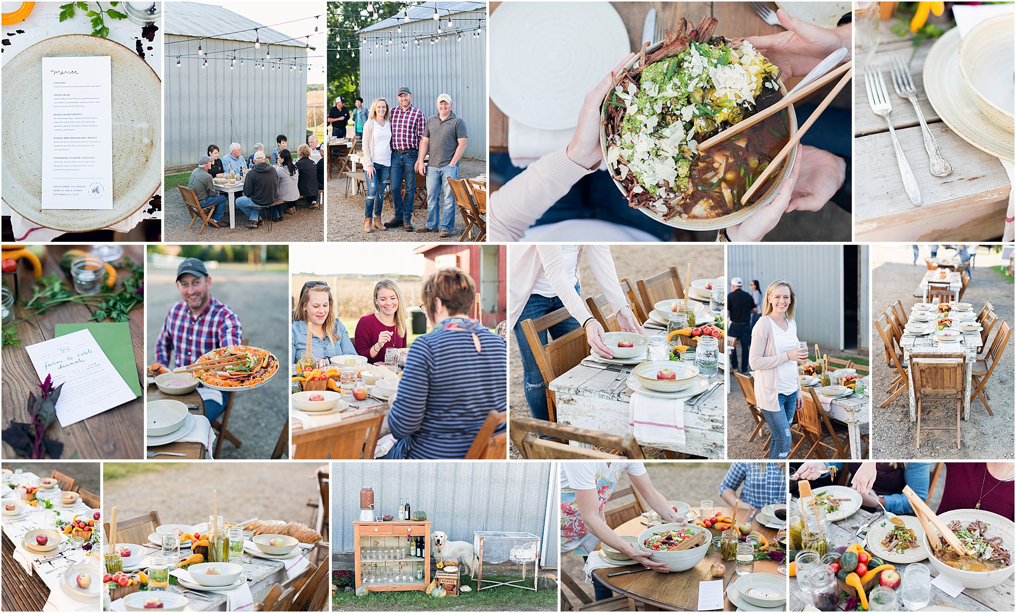 Caitlin Claire Studio Farm To Table Dinner