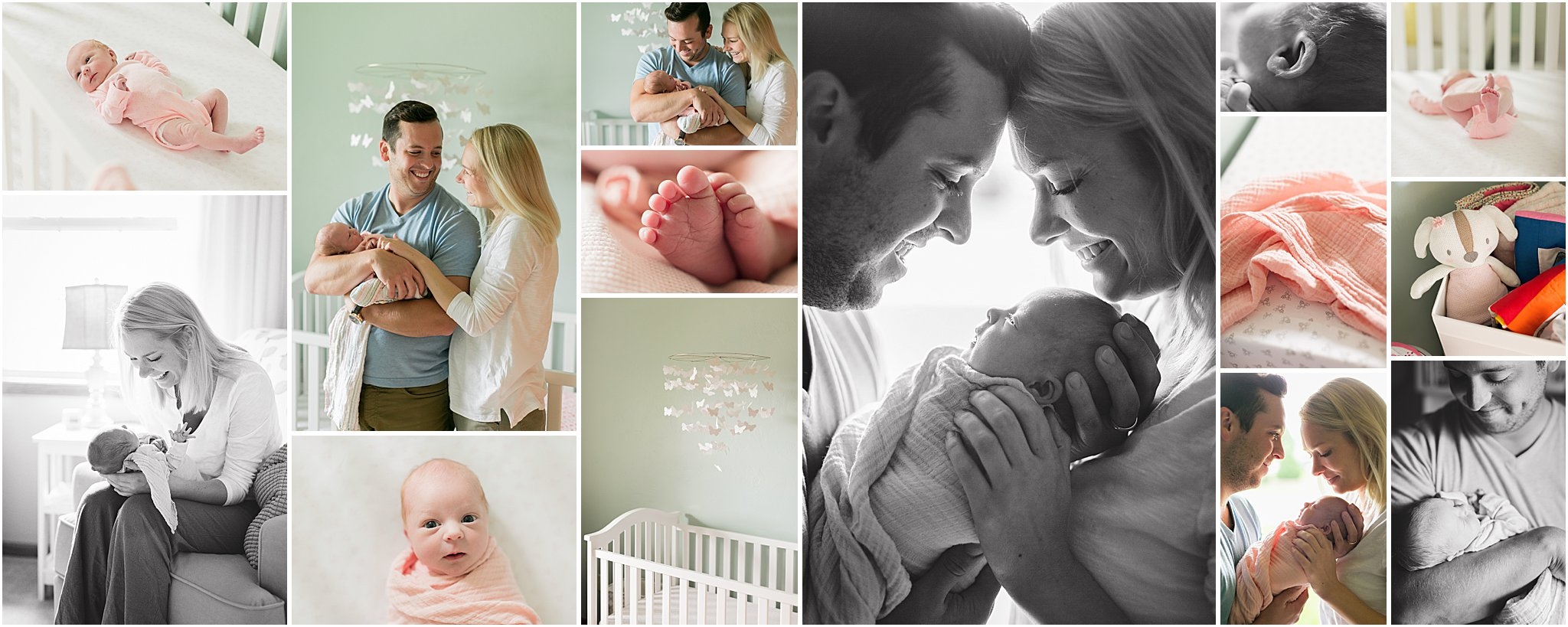 Caitlin Claire Studio In Home Newborn Photography