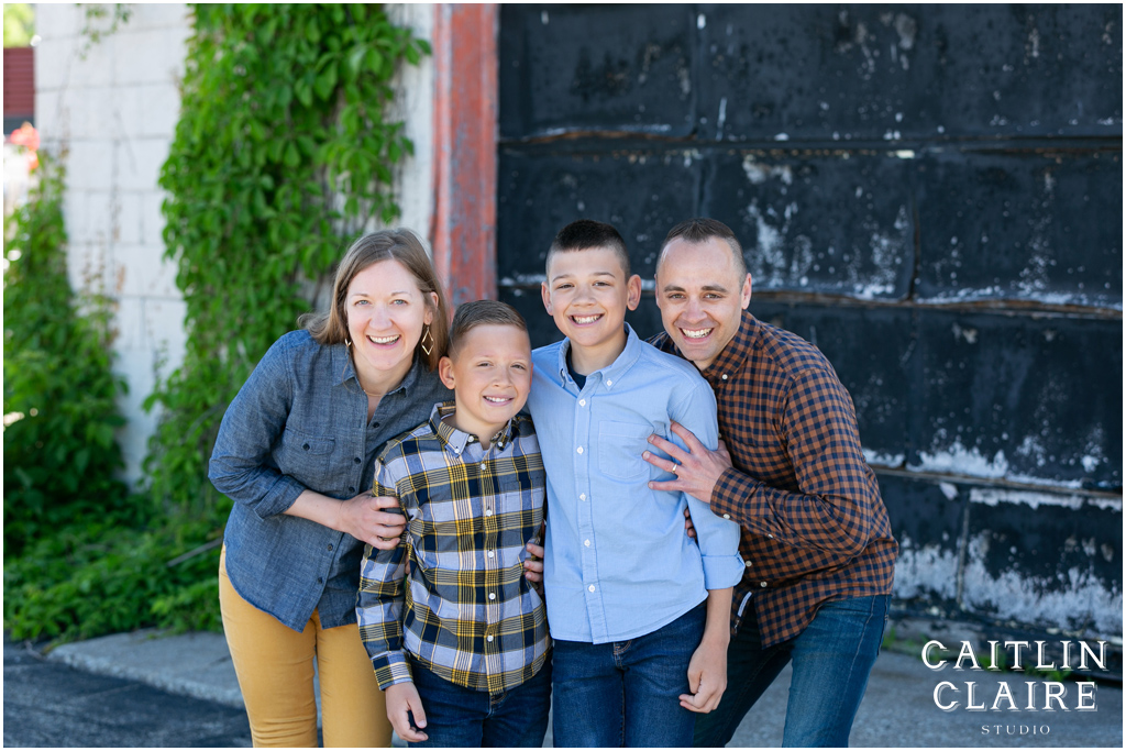 Downtown Family Photography